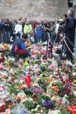 La Norvegia dopo gli attacchi Fotografia Stock Libera da Diritti