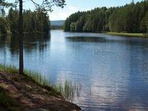 La Norvegia - giro della canoa Fotografia Stock Libera da Diritti