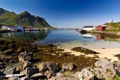La Norvegia - Lofoten Fotografie Stock Libere da Diritti
