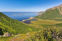 La Norvegia - Lofoten immagini stock libere da diritti