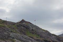 La Norvegia - paesaggio della montagna Trollstigen Fotografia Stock