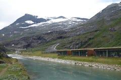 La Norvegia - paesaggio della montagna Trollstigen Immagini Stock