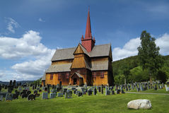 La Norvegia, Ringebu Fotografia Stock Libera da Diritti