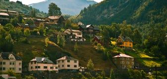 La Norvegia rurale fotografia stock