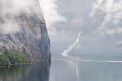 La Norvegia scenica Fotografie Stock Libere da Diritti