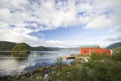 La Norvegia tipica fotografie stock libere da diritti