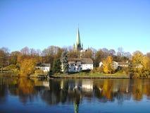 La Norvegia Trondeim Fotografia Stock