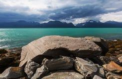 La Norvège du nord Images libres de droits