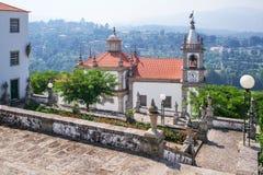 La nostra signora del santuario di Oporto De Ave in Povoa de Lanhoso, Portogallo fotografia stock