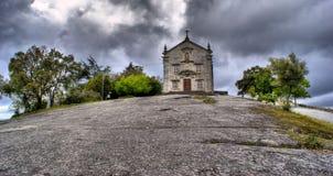 La nostra signora del santuario di Pilar in Povoa de Lanhoso immagini stock