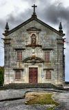 La nostra signora del santuario di Pilar in Povoa de Lanhoso immagine stock libera da diritti