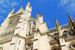 La nostra signora della cattedrale di Amiens in Francia Immagini Stock Libere da Diritti