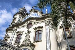La nostra signora della chiesa del Brasile Immagine Stock