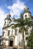 La nostra signora della chiesa del Brasile Immagine Stock Libera da Diritti