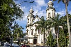 La nostra signora della chiesa del Brasile Fotografie Stock Libere da Diritti