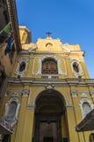 La nostra signora della chiesa del monte Carmelo, Sorrento, Italia fotografia stock libera da diritti