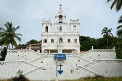 La nostra signora della chiesa di immacolata concezione, Goa Immagini Stock