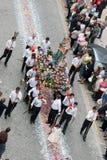 La nostra signora della processione 90 di Desterro Fotografia Stock Libera da Diritti