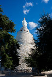 La nostra signora della statua del Libano Fotografia Stock Libera da Diritti