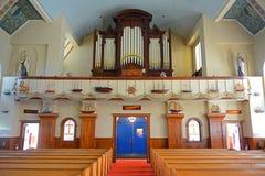 La nostra signora di buona chiesa di viaggio, Gloucester, mA, U.S.A. fotografia stock libera da diritti