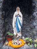 La nostra signora di Lourdes Fotografia Stock Libera da Diritti