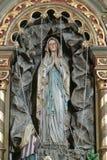 La nostra signora di Lourdes Fotografie Stock Libere da Diritti