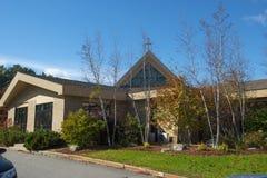 La nostra signora di pietà in Merrimack, NH, U.S.A. immagine stock libera da diritti