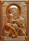 La nostra signora Immaculate With God Immagini Stock Libere da Diritti