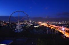 La notte di Harbin Fotografie Stock Libere da Diritti