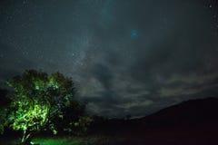 La notte stars il cielo Fotografie Stock