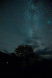 La notte stars il cielo Fotografia Stock Libera da Diritti