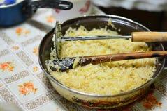 La nourriture de la grand-maman Photographie stock libre de droits