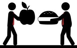 La nourriture est la vie Photographie stock libre de droits