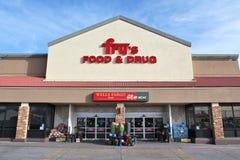 La nourriture et la drogue de la friture Images stock
