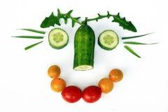 La nourriture saine est amusement image stock