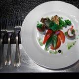 La nourriture sur la table Photos stock