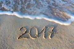 La nouvelle année 2017 est prochain concept Photographie stock libre de droits