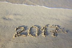 La nouvelle année 2017 est prochain concept Photo stock
