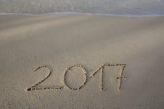 La nouvelle année 2017 est prochain concept Photos libres de droits