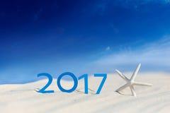 La nouvelle année 2017 est prochain concept Photo libre de droits