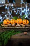 La nouvelle année 2018 est prochain concept Images libres de droits