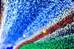 La nouvelle année et le Noël LED fastival allument le fond de caverne Eleg Photographie stock libre de droits