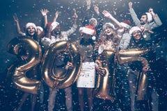 La nouvelle année vient ! photos stock