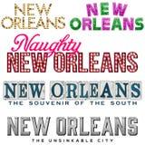 La Nouvelle-Orléans illustration libre de droits