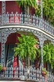 La Nouvelle-Orléans, architecture créole de style, maison urbaine avec des balcons photo libre de droits