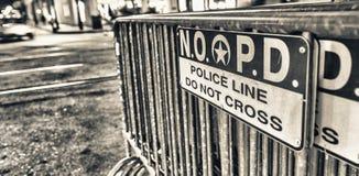 LA NOUVELLE-ORLÉANS - 11 FÉVRIER 2016 : Départements de Police de la Nouvelle-Orléans Images stock
