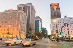 LA NOUVELLE-ORLÉANS - 20 JANVIER 2016 : Rues de ville la soirée neuf Photos libres de droits