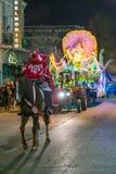 La Nouvelle-Orléans, LA/USA - vers en février 2016 : Défilé pendant le Mardi Gras à la Nouvelle-Orléans, Louisiane Images libres de droits