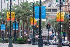 La Nouvelle-Orléans, LA/USA - vers en mars 2009 : Canal Street à la Nouvelle-Orléans, Louisiane Photographie stock