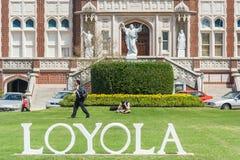 La Nouvelle-Orléans, LA/USA - vers en mars 2009 : Entrée principale à Loyola University à la Nouvelle-Orléans, Louisiane Photos libres de droits